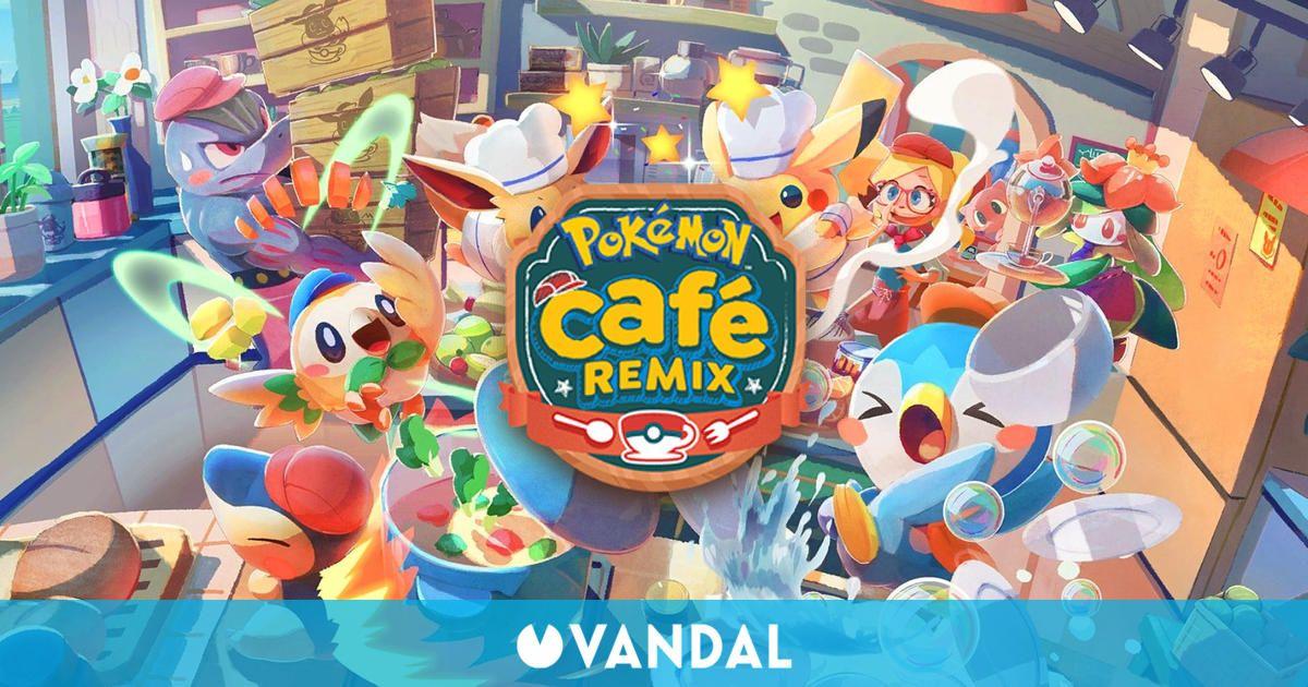 Pokémon Café Mix recibe una gran actualización y cambia de nombre a Pokémon Café ReMix