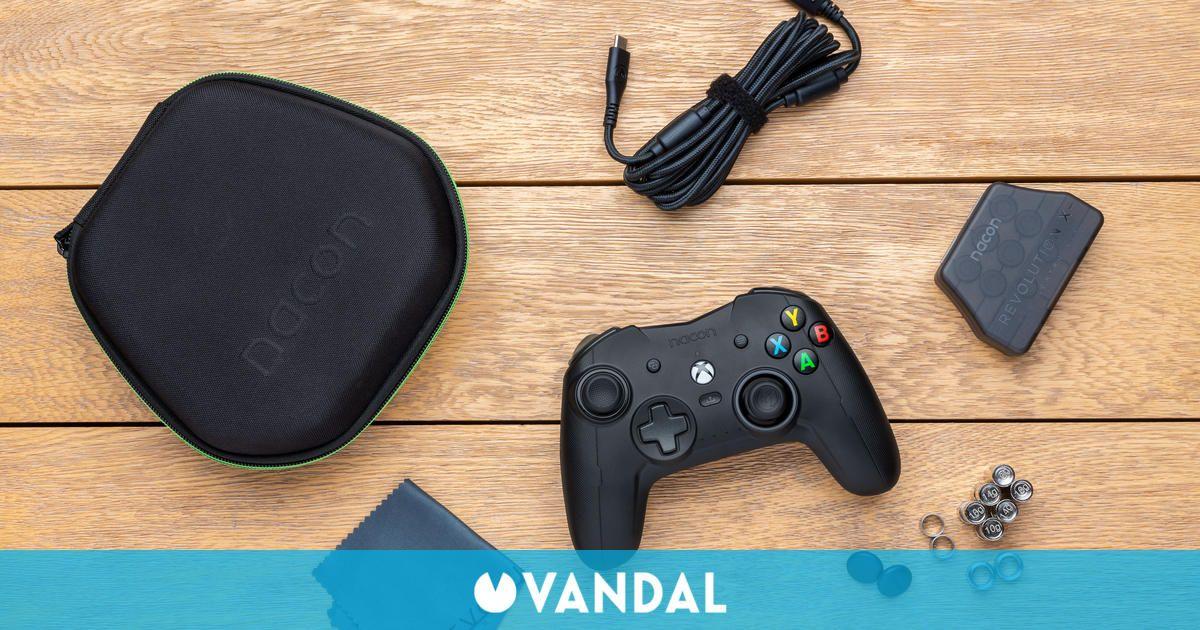 El Nacon Revolution X Pro Controller llega el 13 de octubre para Xbox Series, One y PC