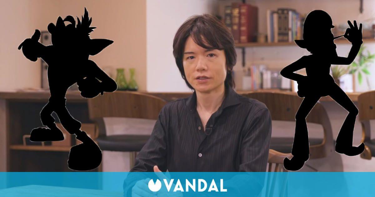 Sakurai anima a los jugadores a ver la revelación del último personaje de Super Smash Bros. Ultimate
