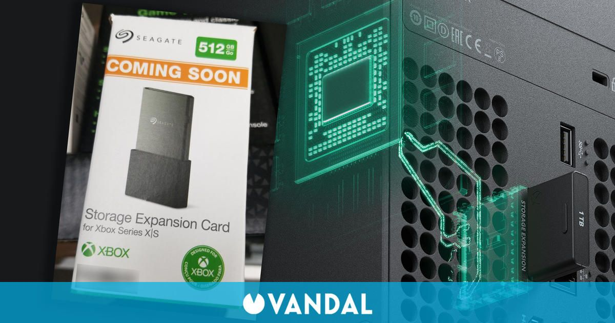 Xbox Series X/S: Las tarjetas de expansión de 512 GB comienzan a aparecer en tiendas