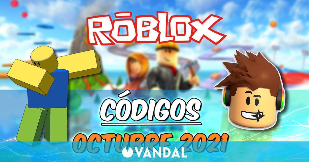Promocodes Roblox (Octubre 2021): Todos los códigos y recompensas gratis