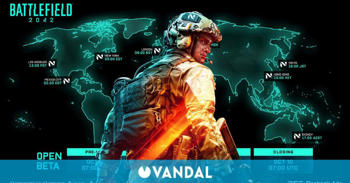 Battlefield 2042 ya permite preinstalar su beta abierta en PlayStation, Xbox y PC