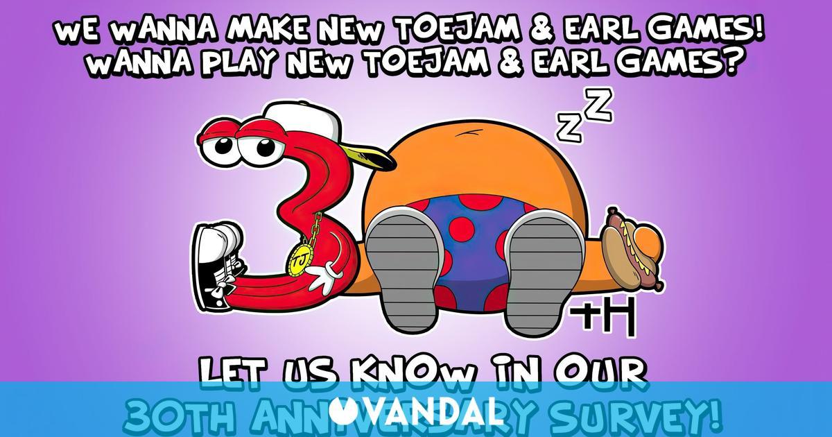 Los creadores de ToeJam & Earl preguntan a los fans por una nueva entrega