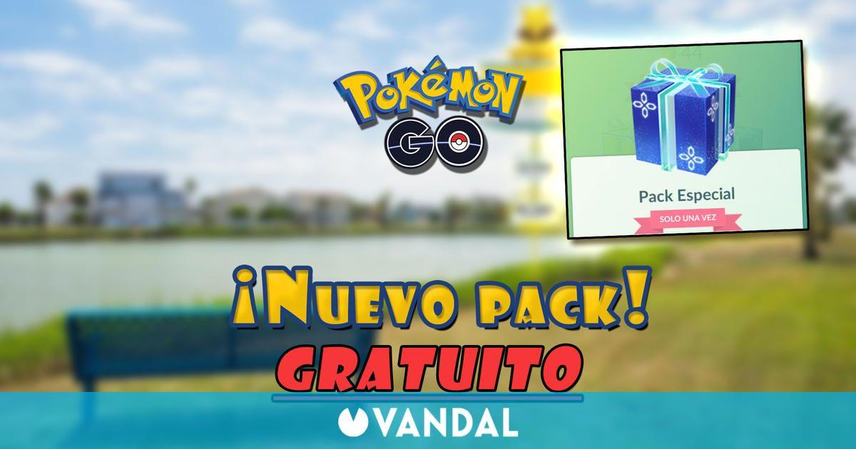 Pokémon GO está regalando hoy un pack de aniversario, solo por tiempo limitado