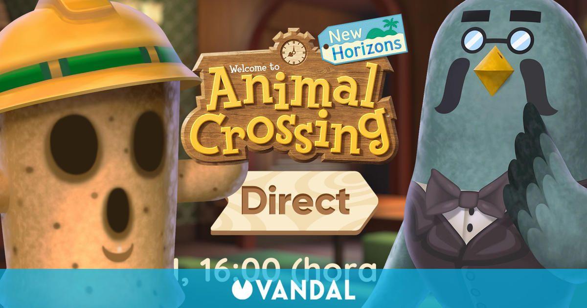 Animal Crossing: New Horizons celebrará su Direct el viernes 15 de octubre