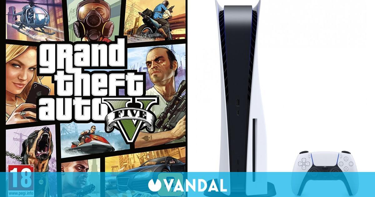PS5 fue la consola más vendida en España por tercera semana consecutiva; GTA 5 por sexta