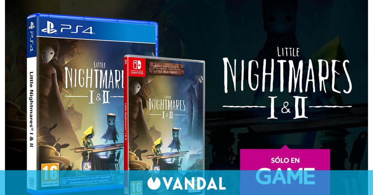 La edición física de Little Nightmares 1+2 ya se puede reservar en GAME para PS4 y Switch