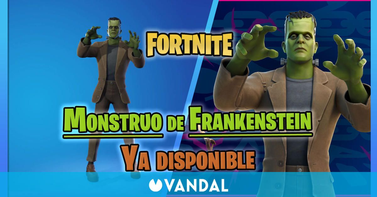 Fortnite: Skin del Monstruo de Frankenstein ya disponible – ¿Cómo conseguirlo?