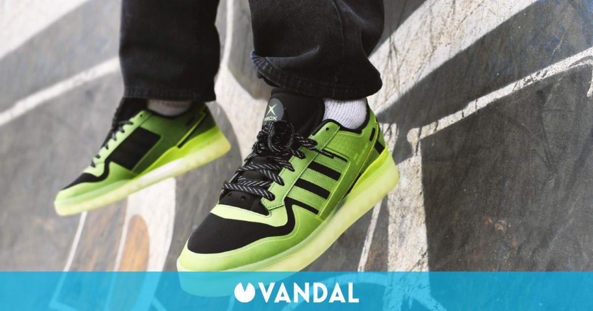 Adidas lanzará unas zapatillas con temática de Xbox por su 20 aniversario