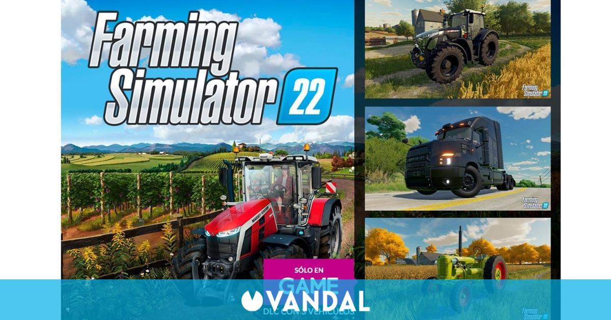 GAME regala un DLC con la reserva de Farming Simulator 22