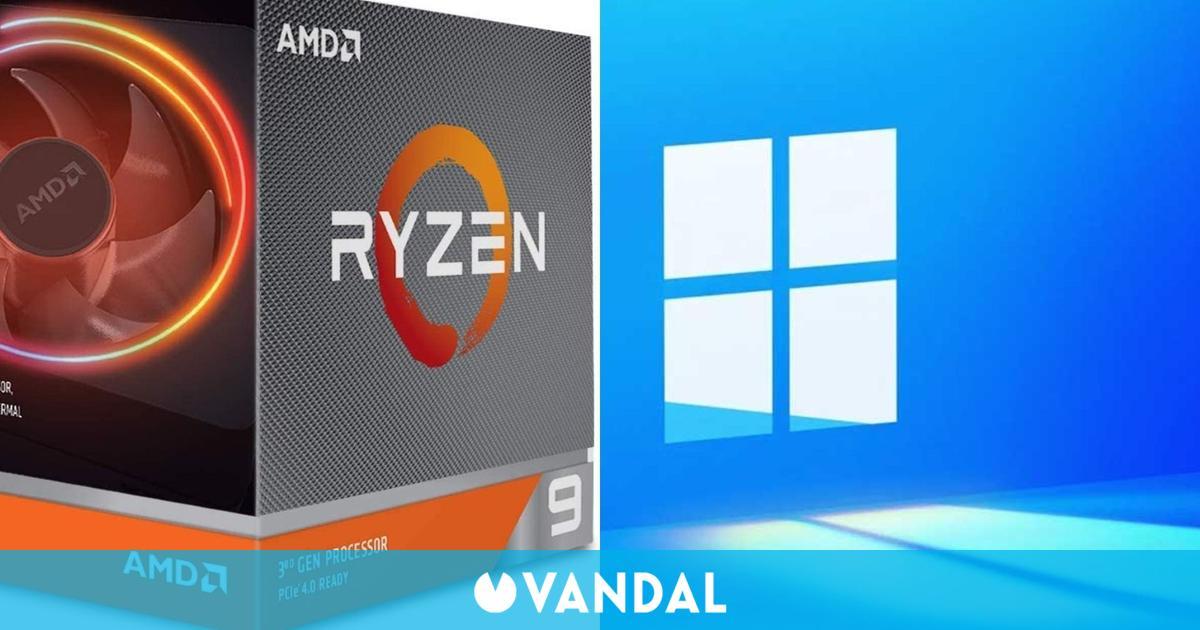 Las CPU AMD Ryzen pierden hasta un 15 % de rendimiento con juegos de esports en Windows 11