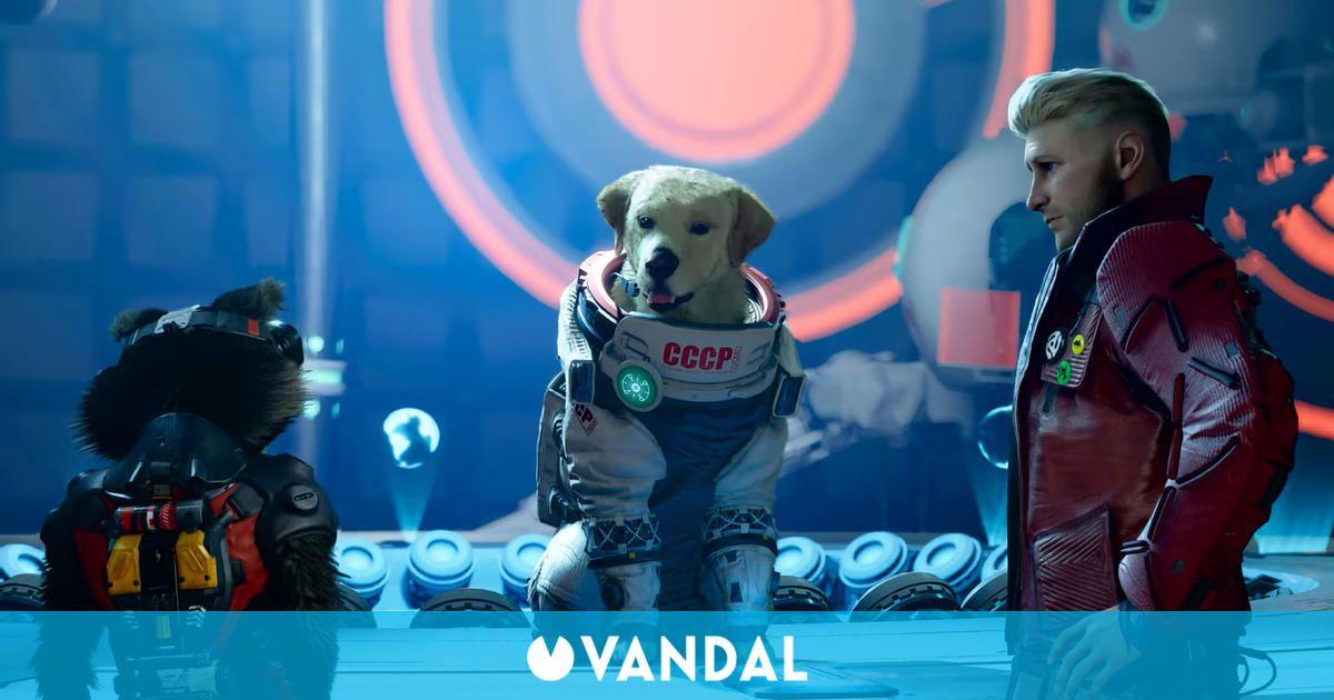 Guardians of the Galaxy presenta a Cosmo, el perro astronauta soviético, en un nuevo tráiler