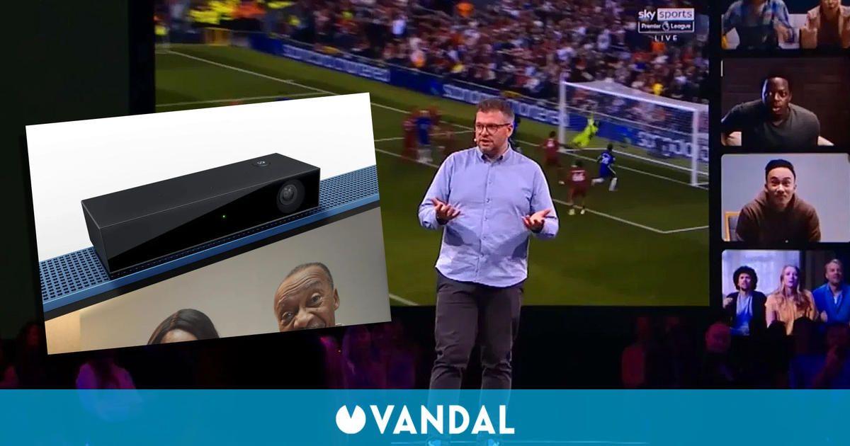 Microsoft recupera tecnología de Kinect para una colaboración con Sky TV