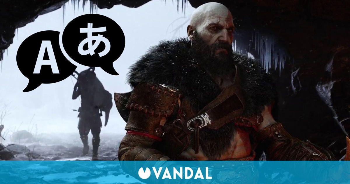 God of War: Ragnarok revela su variado soporte de idiomas