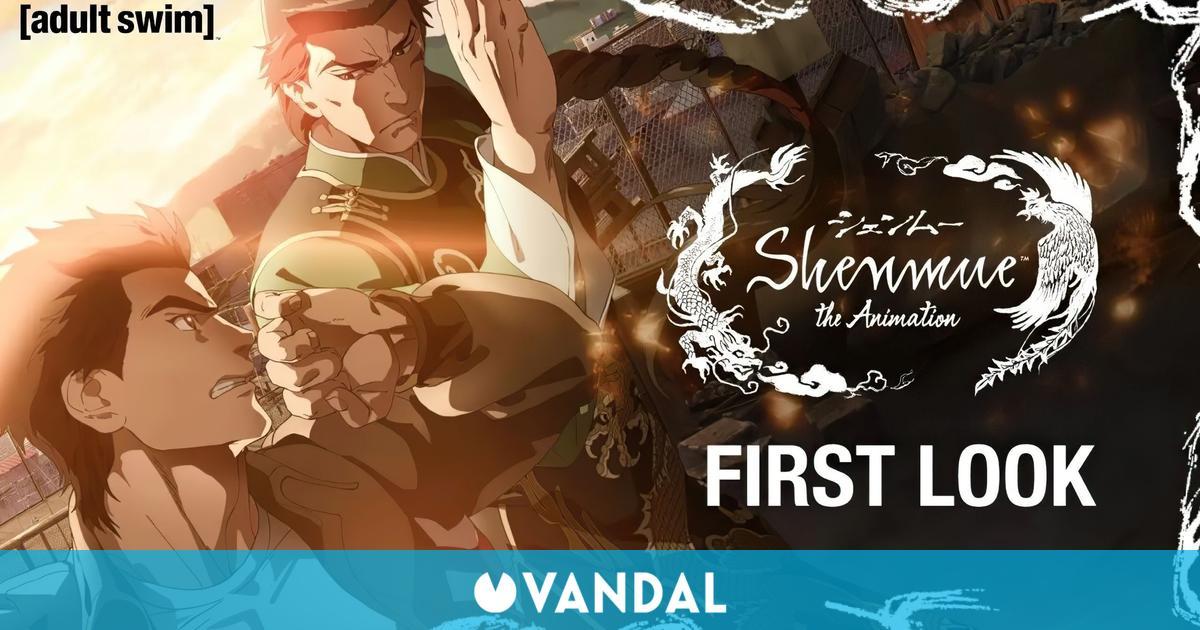 Shenmue the Animation presenta su primer tráiler