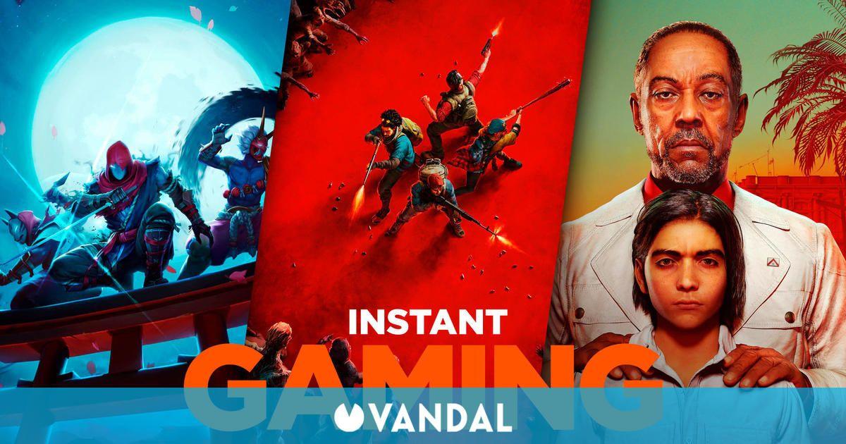 Descubre las 10 mejores ofertas en juegos para PC de Instant Gaming para el fin de semana