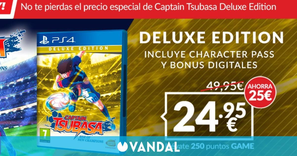Captain Tsubasa: Rise of New Champions Deluxe Edition a 24,95 euros sólo hoy en GAME