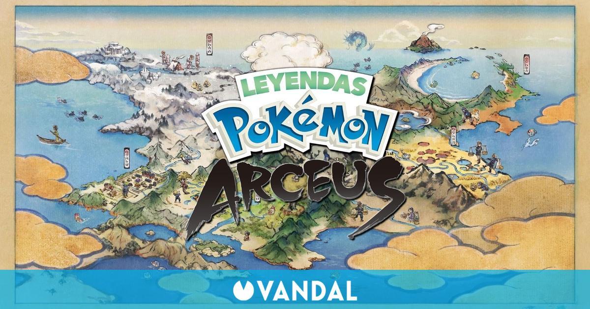 Leyendas Pokémon Arceus no será un mundo abierto: funcionará como Monster Hunter