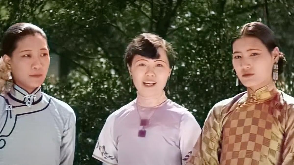 Desfile de moda de 1929 en Shanghái restaurado a color y 4K