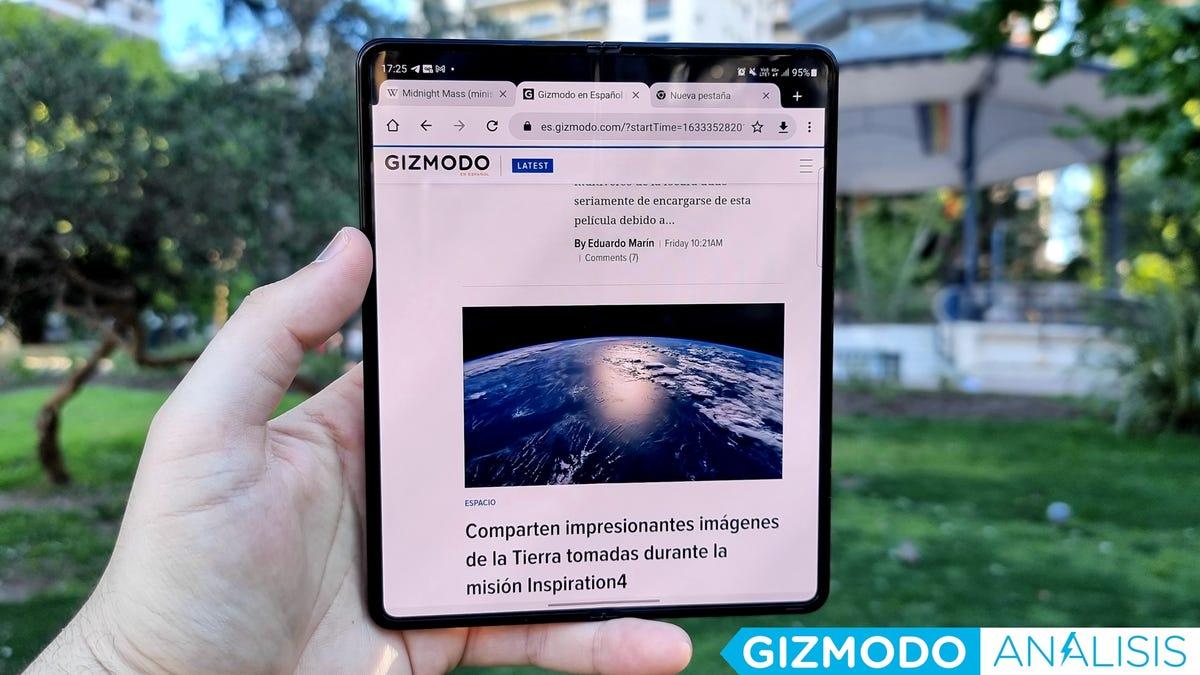 Análisis del Samsung Galaxy Z Fold 3: esta vez sí