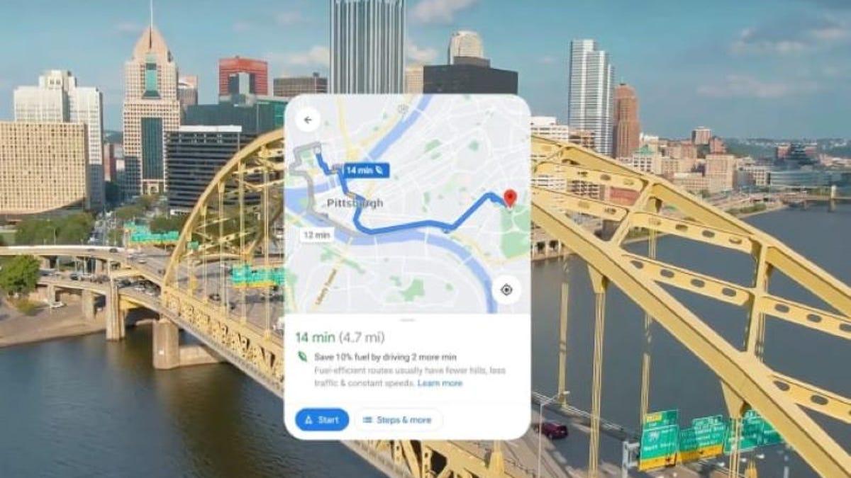 Nuevas funciones para la navegación en bici con Google Maps
