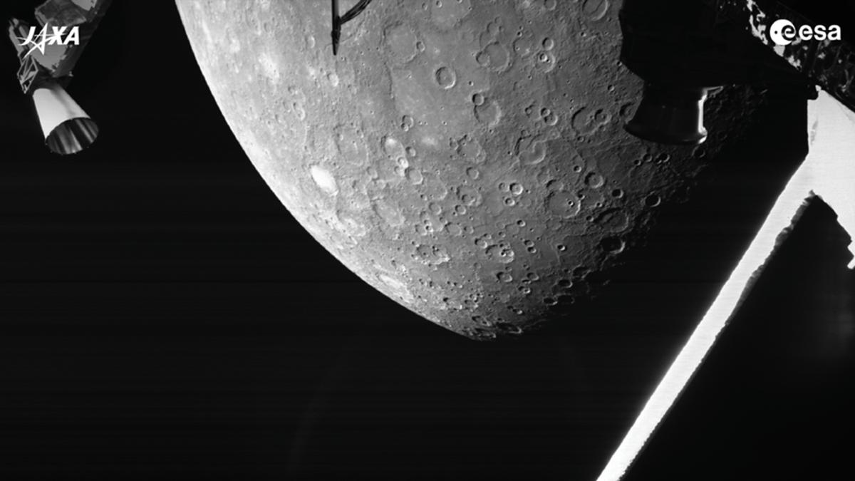 Primeras fotos de Mercurio de la misión BepiColombo