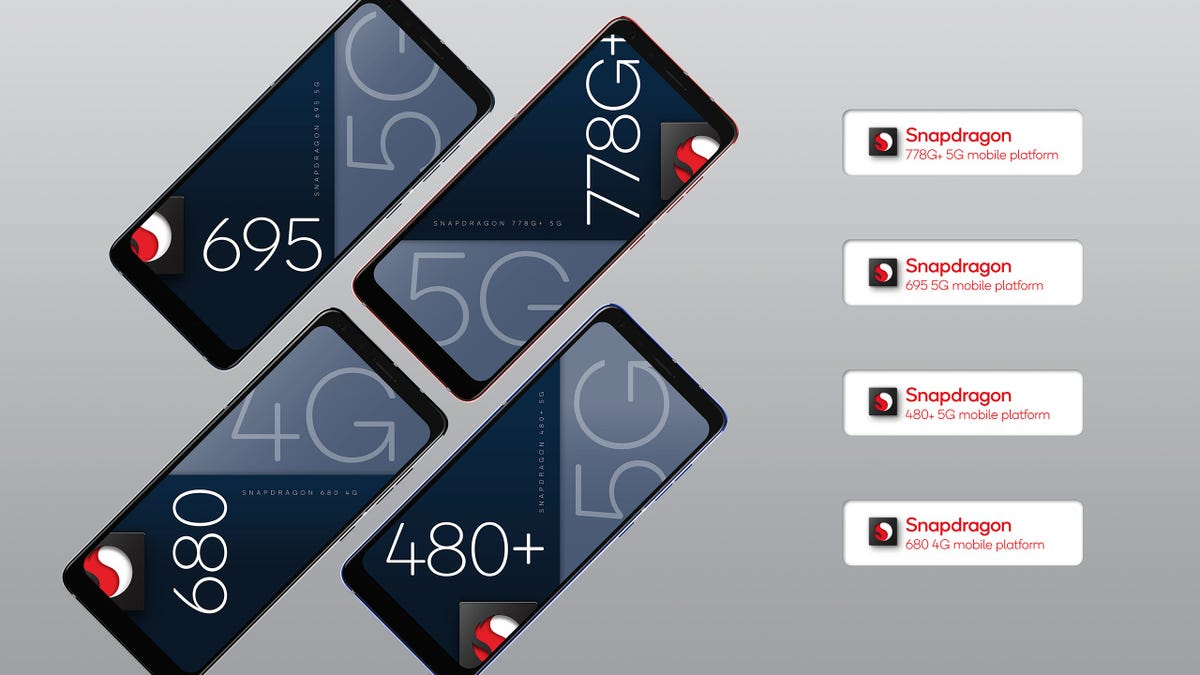 Nuevos procesadores de Qualcomm para smartphones 5G más baratos
