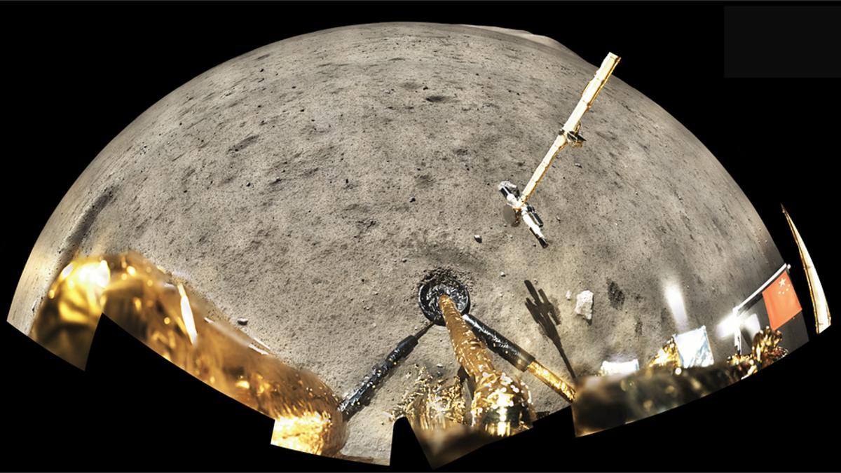 Las rocas lunares más jóvenes alteran la historia de su pasado