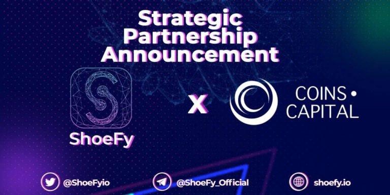 ShoeFy remodelando los NFT con zapatillas digitales;  Anuncia asociación con Coins Capital