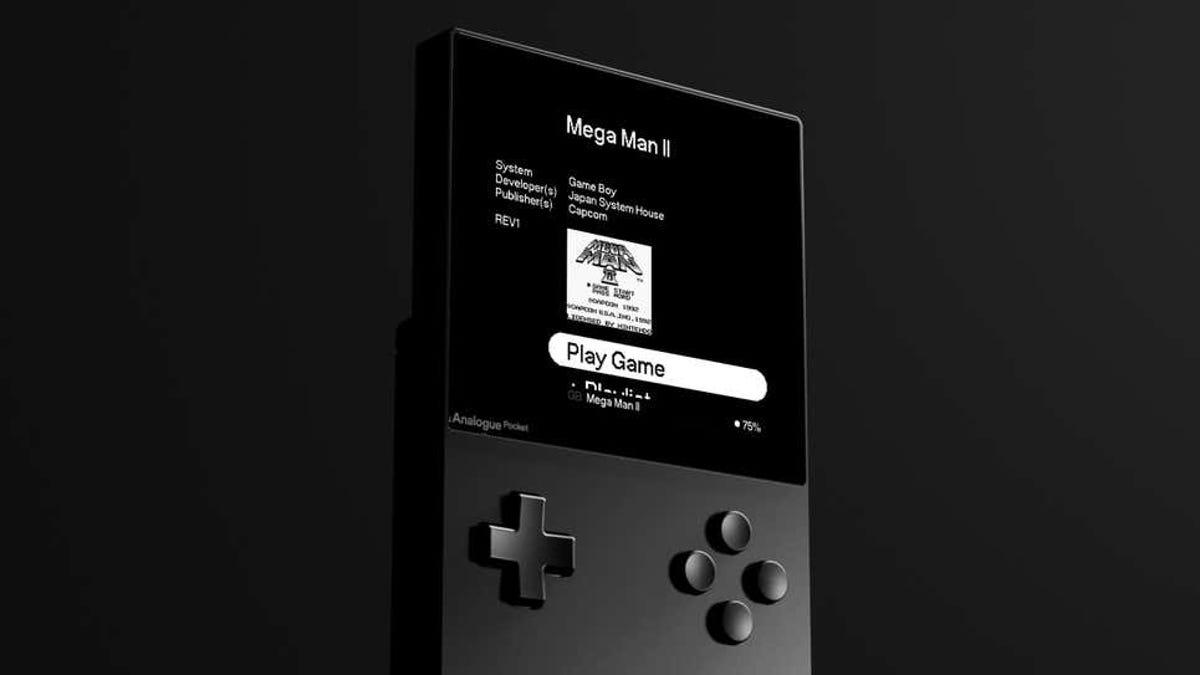 Analogue Pocket será una base de datos de juegos retro