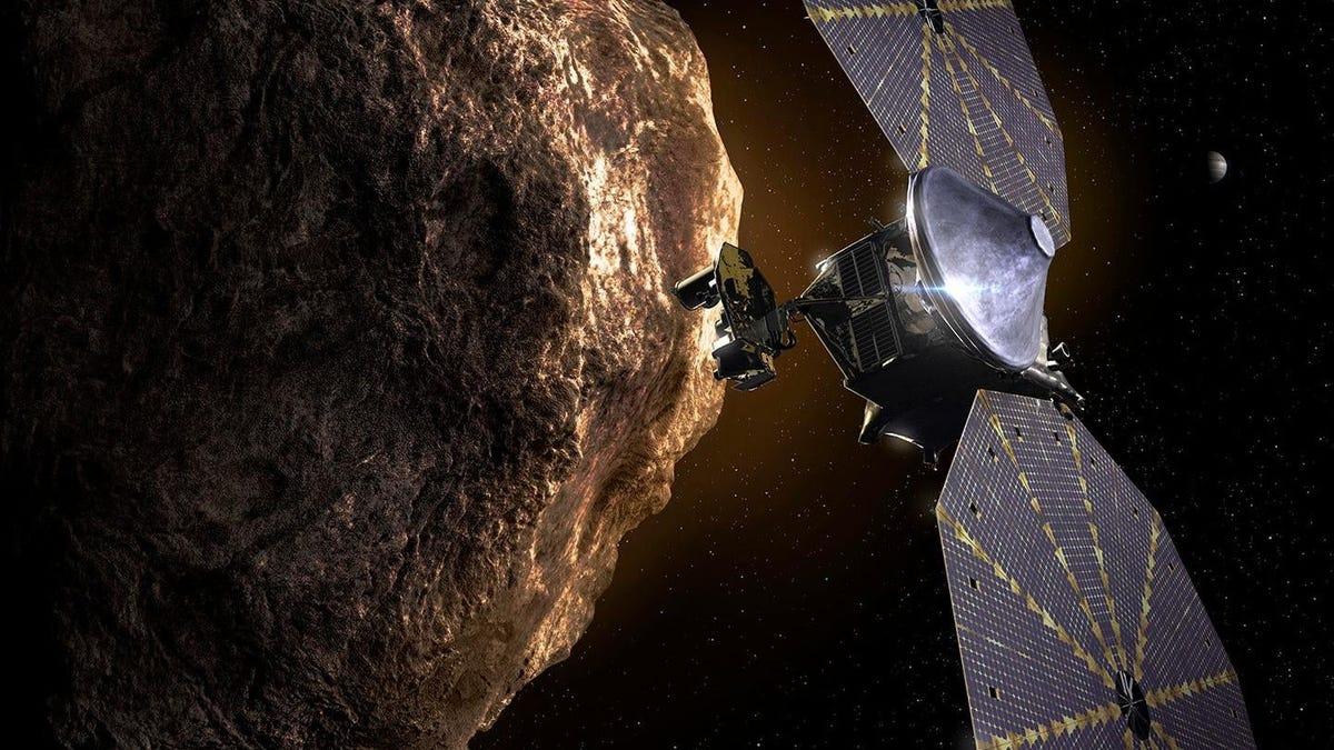 todo sobre misión de la NASA a asteroides troyanos de Júpiter