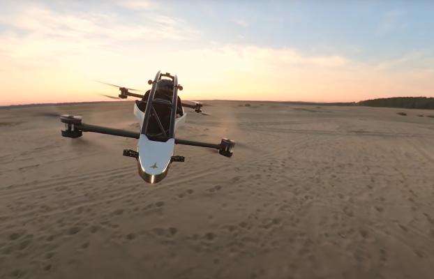 Este dron monoplaza se monta como un mueble de Ikea