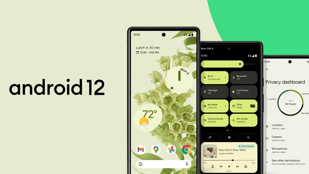 El nuevo Android 12 por fin comienza a estar disponible