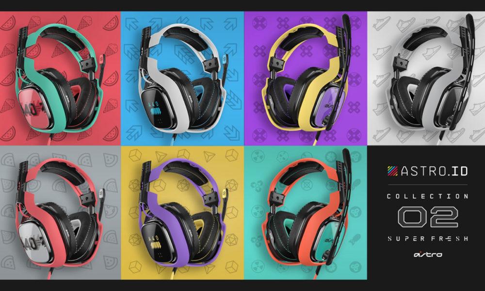 La ASTRO ID COLLECTION 2 amplia su personalización para los auriculares A40 TR