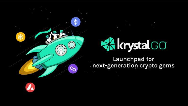 La plataforma de DeFi respaldada por hashed Krystal estrena la plataforma de lanzamiento de tokens, KrystalGO
