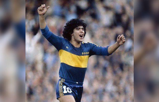 El Token Conmemorativo De Maradona