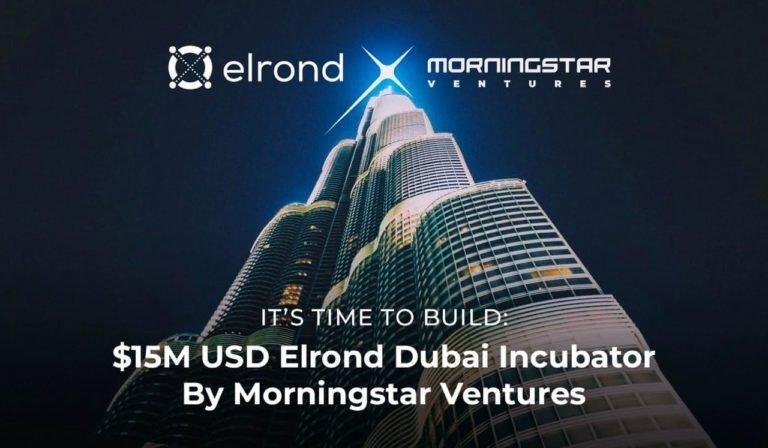 Morningstar Ventures compromete $ 15 millones de dólares para invertir en proyectos que se basan en la red Elrond y abre una incubadora de Elrond en Dubai