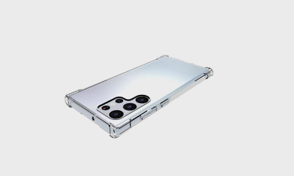 Diseño del Galaxy S22 Ultra, según un fabricante de fundas