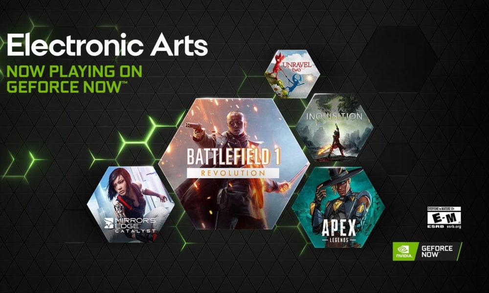 EA lleva sus juegos a GeForce Now, y sin excepción