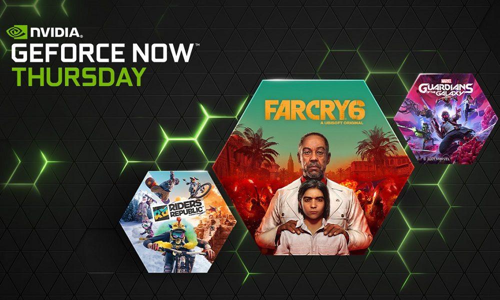 GeForce Now amplía su catálogo con 23 juegos en octubre