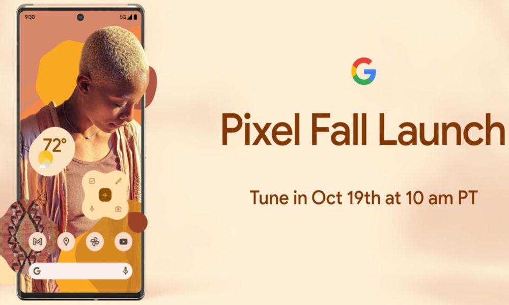 Los Google Pixel 6 se presentarán el 19 de octubre