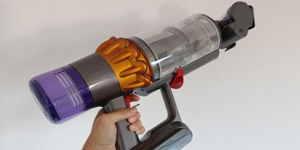 el aspirador con láser incorporado para detectar suciedad invisible