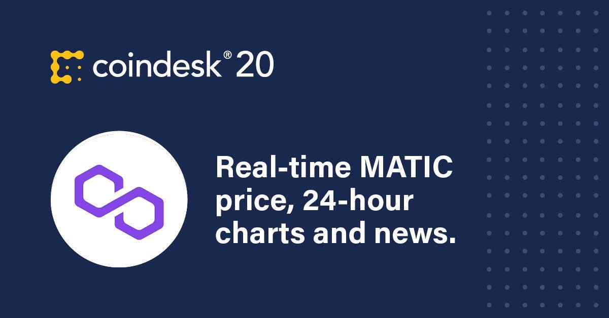 Precio MATIC |  Índice de precios de Polygon (MATIC) y gráfico en vivo