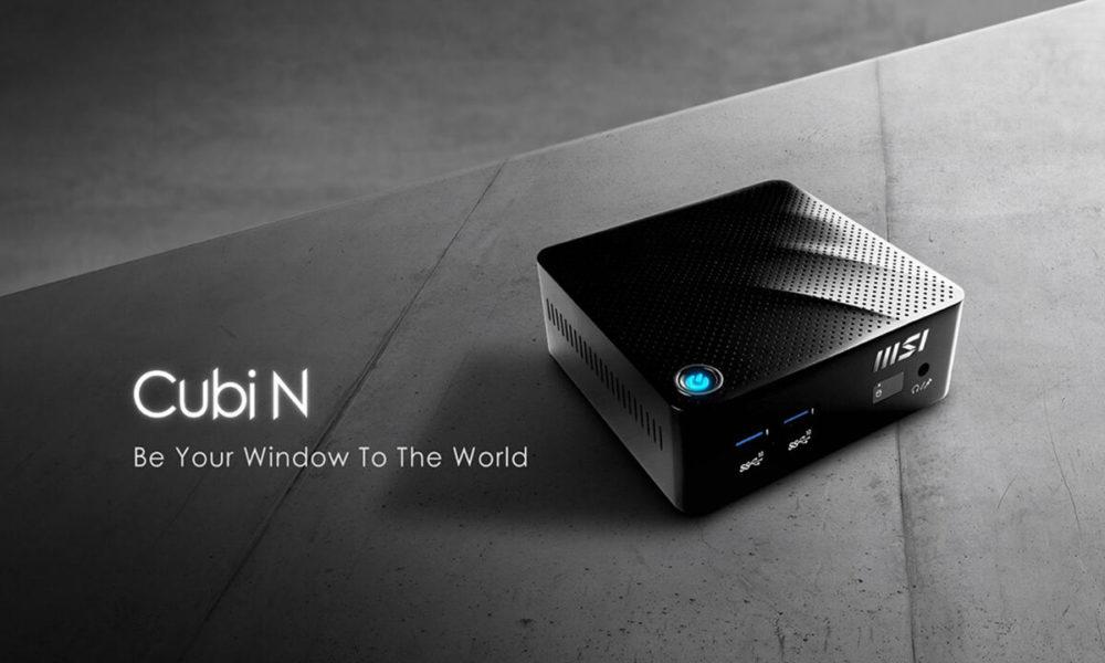 MSI lanza los Cubi N, un miniPC básico, compacto y económico