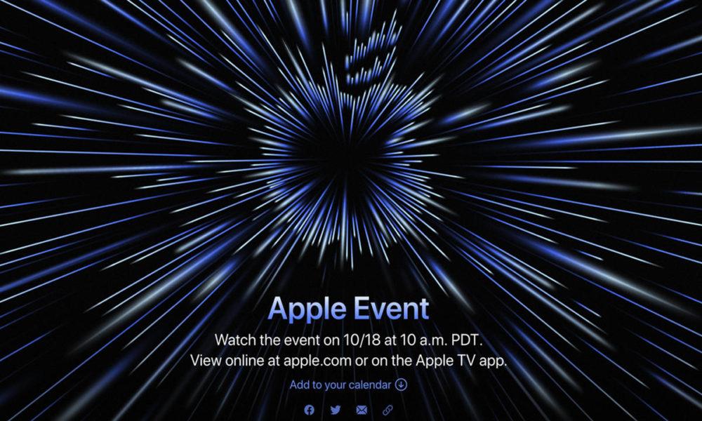 Apple presentará los MacBook con M1X el 18 de octubre