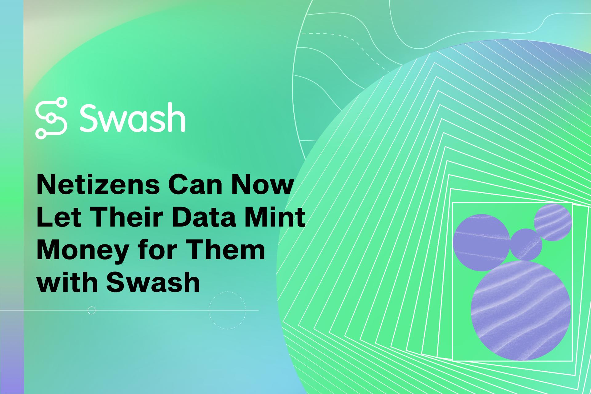 Los internautas ahora pueden dejar que sus datos les generen dinero con Swash