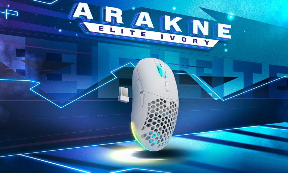Newskill Arakne Elite Ivory, la versión blanca de su ratón ultraligero