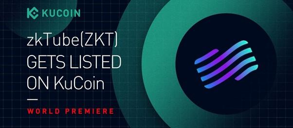 KuCoin lanza el estreno mundial de ZKT y participa en zkTube Layer2 Mining