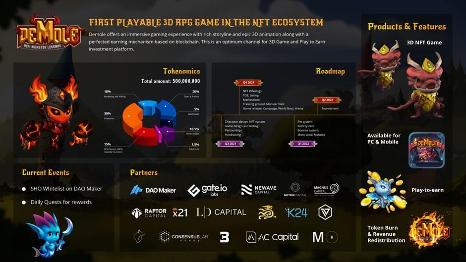 Demole está llevando NFT Gaming más allá de Blockchain