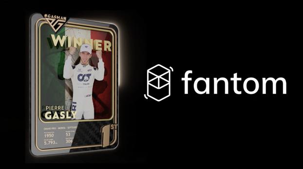 Pierre Gasly se asocia con Fantom para convertirse en el primer piloto de Fórmula 1 ™ en ofrecer NFT únicos para los fanáticos